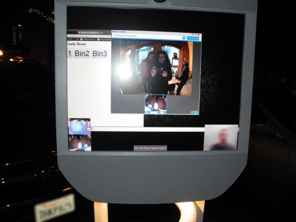 Kommunikation über Distanz mit Präsenzrobotern