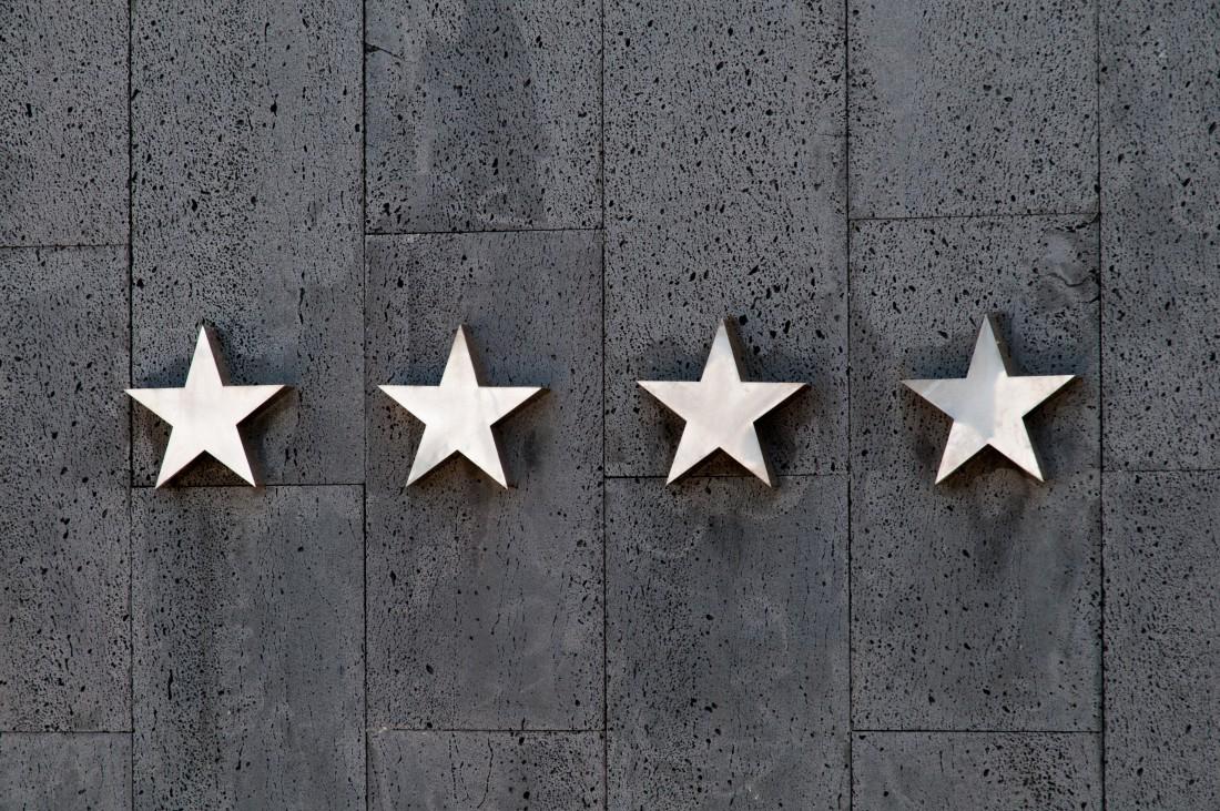 Sterne für den Chef im gläsernen Unternehmen