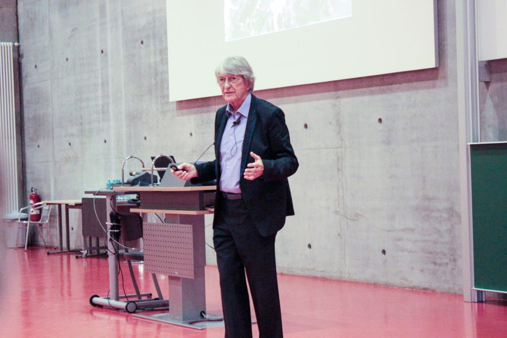 Larry Leifer, the keynote speaker at the SAP University Alliances Innovation Network held September 6th, 2016. He has studied how engineers do design for over thirty years, and has written over 40 doctoral dissertations as well as the Design Thinking Research series with Hasso Platner, cofounder of SAP Enterprise Systems.