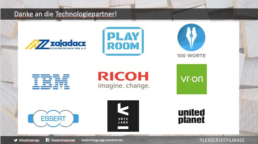 Starke Praxispartner: Das Digital Leadership Lab wird von zahlreichen Unternehmen mit Hard- und Software ausgestattet und ermöglicht somit, digitale Tools direkt auszuprobieren, statt nur über sie zu sprechen.